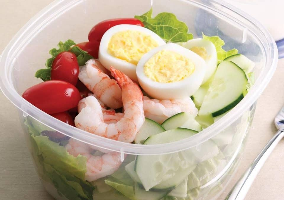 Cobb Shrimp Salad